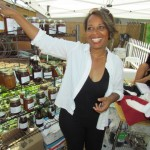 Mama Vega promotes healthy living through her food line at Planting the Seeds of Life.