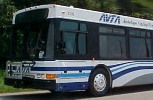 Transit Authority bus