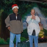 Santiago Timple and Marilyn Grill were crowned King and Queen of Senior Expo 2011.