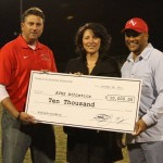 UAV founders give $10,000 to AVHS athletics & cheer departments