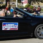 Palmdale's first mayor Larry Chimbole.