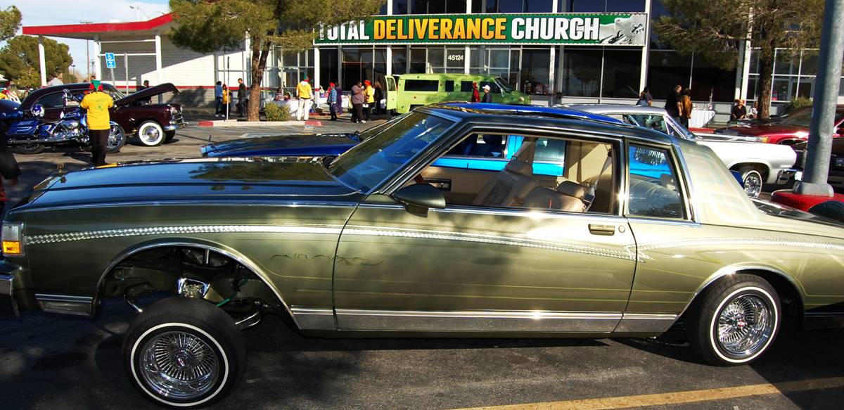 Toy Drive In A Lowrider