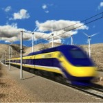 Proposed High Speed Rail rendering