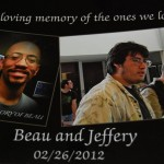 Memorial photos were create in the Walmart Photo Department where Jeffrey Gilstrap worked.