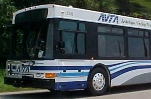 Antelope Valley Transit Authority bus