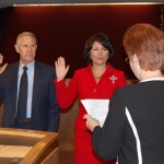 Lancaster council members take oath of office