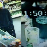 Two armed robbers held up a Palmdale convenience store on Thursday, June 28. Their images were captured by the store's video surveillance camera, authorities said.