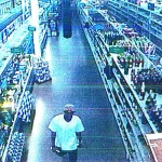 WANTED: Thief who hit Walmart greeter in the head with a bottle