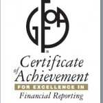 Certificate of Achievement for Excellence in Financial Reporting 2