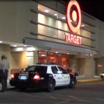 The incident happened at the Target store on 10th Street West and Avenue K in Lancaster.