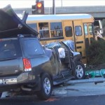 SUV vs school bus