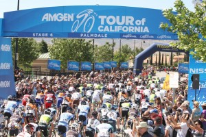 For third stage of the 2013 Amgen Tour of California, on May 14, the race will return to Palmdale for a stage start and then travel approximately 100 miles west to Santa Clarita.