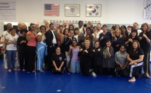 Dozens of local women attended a similar seminar in 2012. (Photo courtesy William Robinson.)