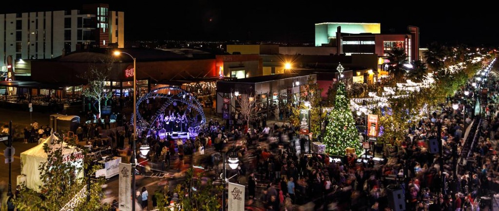 Thousands flocked to The BLVD last year for the annual 'Magical BLVD Christmas.' This year's event takes place on Friday, Dec. 6, city officials announced. (Photo by JAMES STAMSEK)