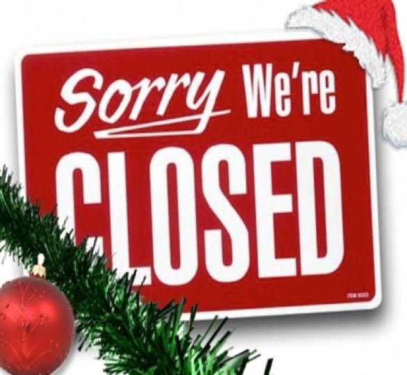 office closed for christmas sign - Roho.4senses.co