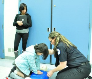 AMR employees will host a Hands-Only CPR clinic again this year.