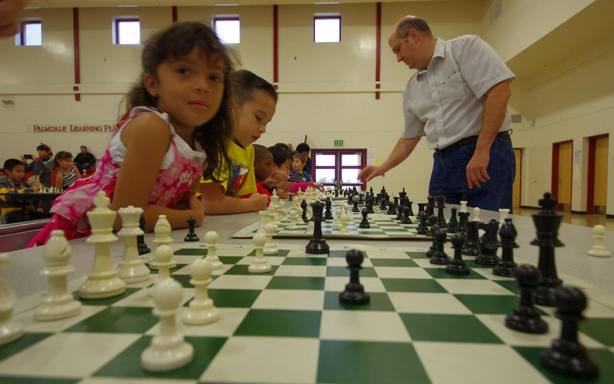 Daa Mahowald, who has been teaching and coaching chess for more than 25 years, organized a Chess Mini Game tournament for local children back in February. Mahowald will be offering two chess classes for children at the Palmdale City Library.