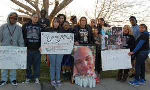 Loved ones paid tribute to James McElroy on the one-year anniversary of his death.