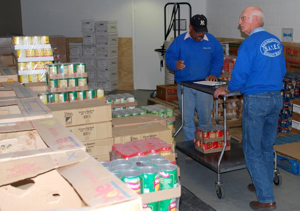 SAVES raised 9,430 pounds of food during March 2013 as part of last year's Feinstein Challenge. Residents are encouraged to participate again this year by bringing non-perishable food items to SAVES, at 1002 East Ave. Q-12 in Palmdale.