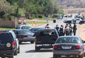Deputies put the neighborhood on lockdown as they searched for Perez,