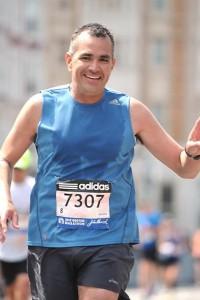 Jose G. Boston Marathon runner 2