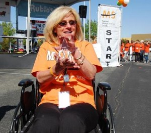 Sherry Prieto won the Most Inspirational Walker Award for the second straight year.