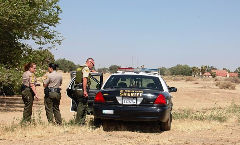 Shortly after the attack, deputies detained two potential suspects in a desert field near 5th Street East and Avenue J-11. The victim was unable to positively identify them, so the men were let go.