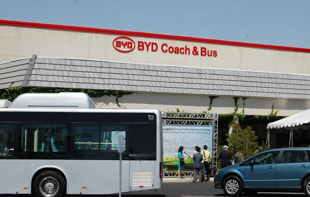 BYD Coach and Bus is located at the former Rexhall Industries at 46147 BYD Boulevard (previously 7th Street West).