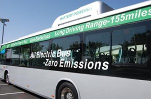 BYD's zero-emissions electric buses provide a range of over 155 miles on a single charge.