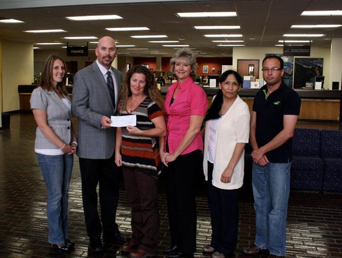 Boeing Poppy Festival donation