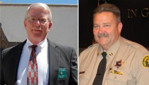 (L to R) Captains Don Ford and Pat Nelson will be available for a meet and greet with the public this week.