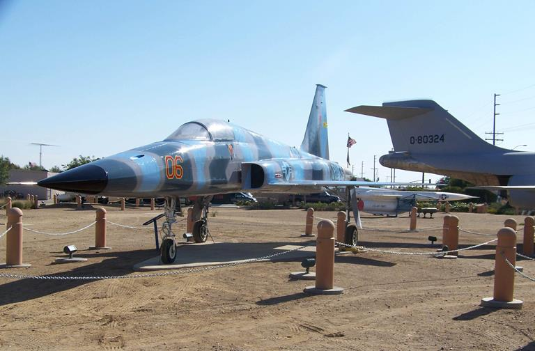 Connect1NG has adopted the F-5 Tiger, which was manufactured by Northrop Aviation in Hawthorne.