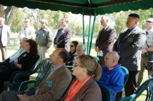 Several officials attended the ceremony Wednesday.