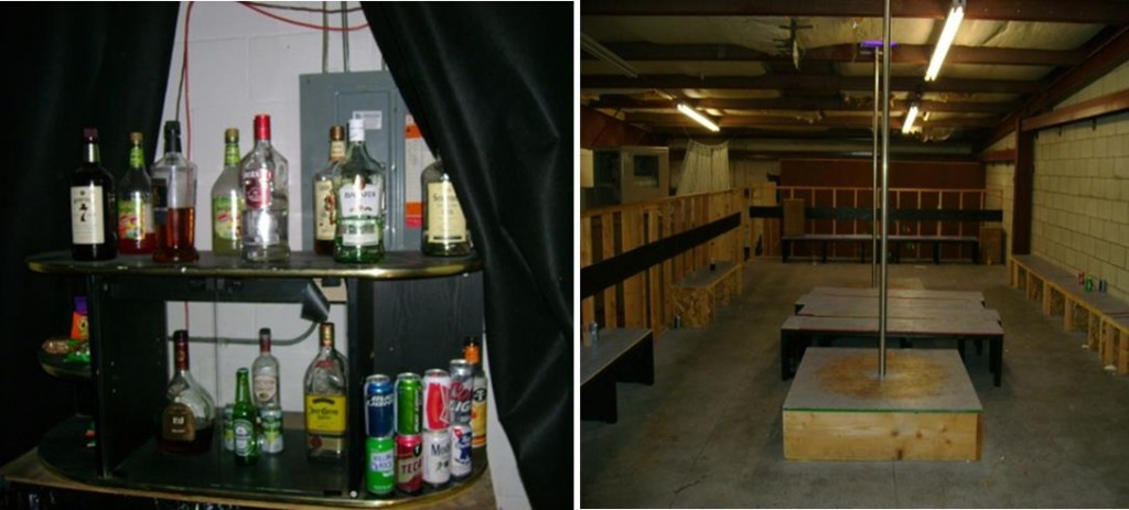 Authorities have release these pictures taken from inside the illegal club. (Courtesy LASD)