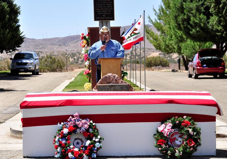 """Today is not about celebrating the beginning of the summer season or a holiday from work; today is a solemn day of remembrance,"" said Ruben Trejo, Past Commander of the Disabled American Veterans 39."