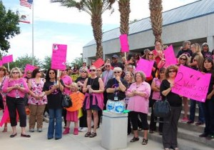 Palmdale teacher protest 5.21.13 5