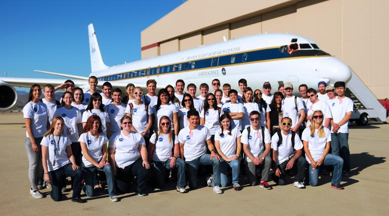 Students participating in NASA's Student Airborne Research Program represent 32 different colleges and universities from across the United States. (Photo by JANE PETERSON)