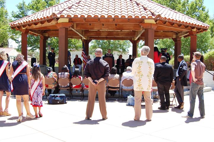 The ceremony was began at 11 a.m., Friday, June 14 in Poncitlan Square.