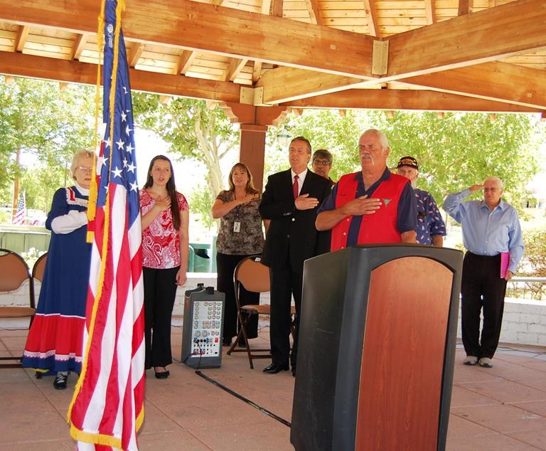 Bobby Breech, Chairman of AVSOA, served as Master of Ceremonies.