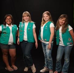 Quartz Hill High School Juniors Emma G, Emma H., Karlie and Alexis are campaigning to help Powerhouse Fire victims through Girl Scout Troop 7042.