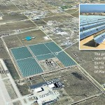 (Image concept of Palmdale Hybrid Power Plant, courtesy Inland Energy Inc.)