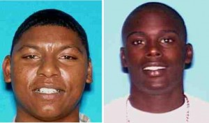 Nicky Packard (left) and Michael Sewell Jr. were shot to death on June 23.