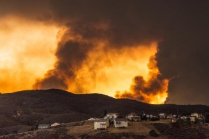 The massive Powerhouse fire scorched through more than 30,000 acres from May 30 to June 11, 2013. (JAMES STAMSEK)
