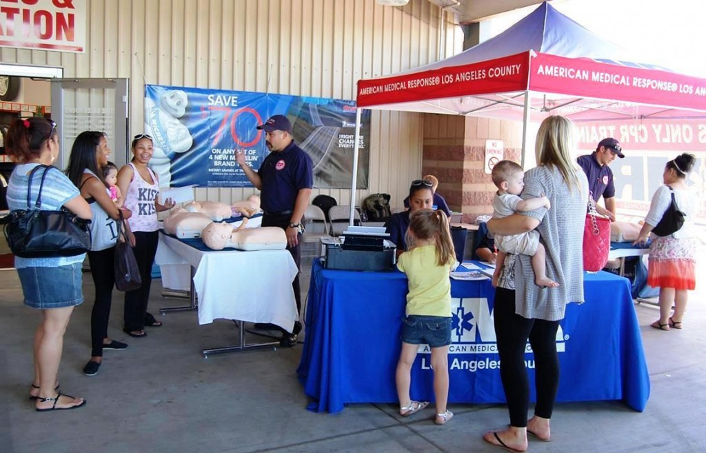 Sidewalk CPR day AMR