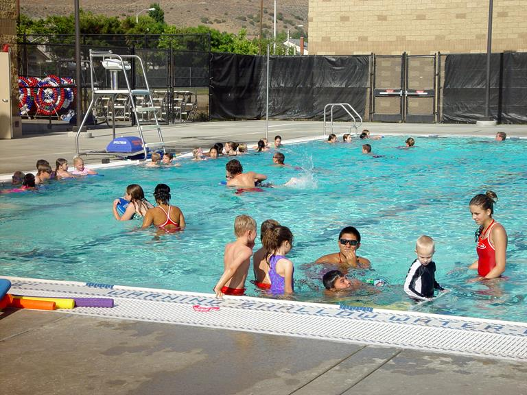 The event will be held at the Marie Kerr pool in Palmdale.