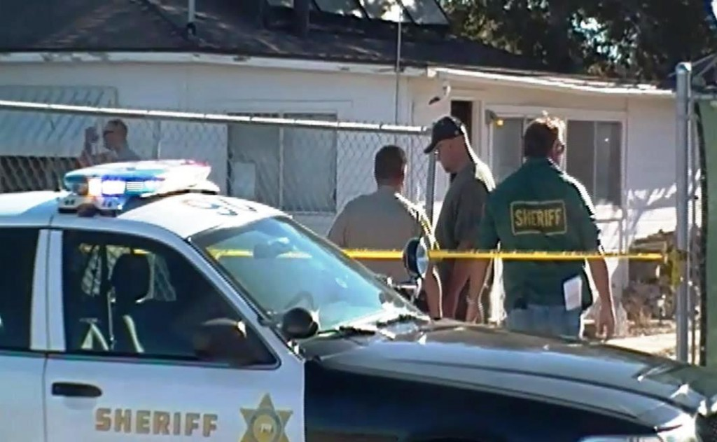 The deputy-involved shooting death happened while deputies were serving a narcotics search warrant at a residence in the 36600 Block of 117th Street East in Littlerock. [Photo by LUIS MEZA]