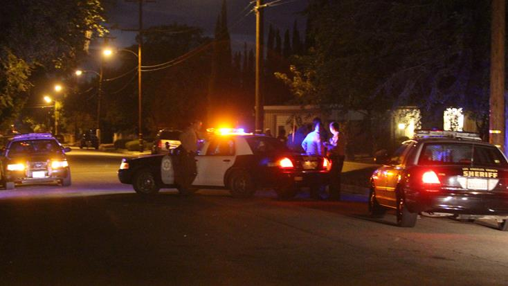 The shooting happened in the 44400 Block of 3rd Street East in Lancaster. (Photo by TONY CHEVAL)
