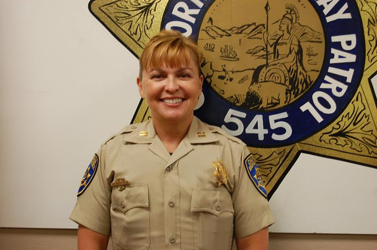 CHP Captain Gretchen Jacobs