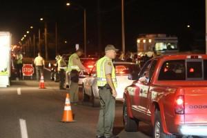 DUI checkpoint Palmdale