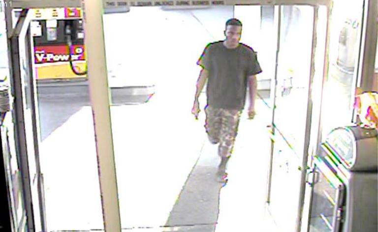 On July 8, the LAPD released these surveillance images asking for the public's help to identify a kidnap/sexual assault suspect for incidents that occurred in the LAPD's Topanga Area. Lancaster resident Kioki Ray Snowden has been charged with several felony counts in connection to the crime. (Courtesy LAPD)